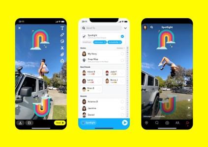 Snapchat запускает собственного конкурента TikTok под названием Spotlight