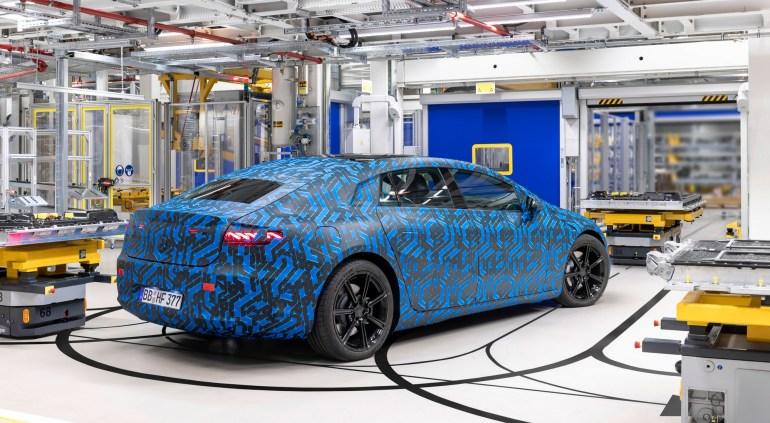 До конца 2022 года Mercedes-Benz запустит в производство сразу шесть электромобилей семейства EQ [модели, даты, страны]