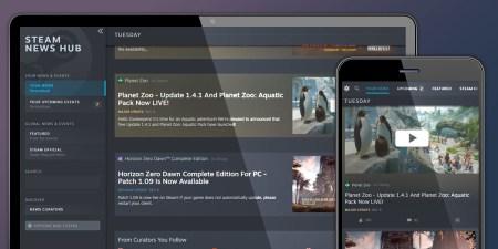 В Steam запустили отдельный новостной центр с персонализированным контентом