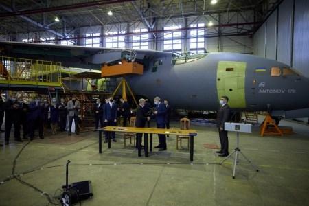 Министерство обороны Украины заказало у ГП «Антонов» три новых украинских самолета Ан-178 для нужд ВСУ