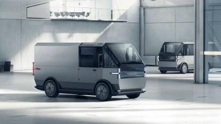 Американский стартап Canoo представил электрический фургон MPDV для служб доставки с батареями 40/60/80 кВтч стоимостью от $33,000