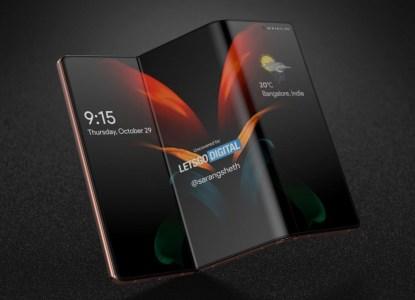 Samsung Display тизерит новые форм-факторы — смартфон-рулон и смартфон-планшет, складывающийся втрое