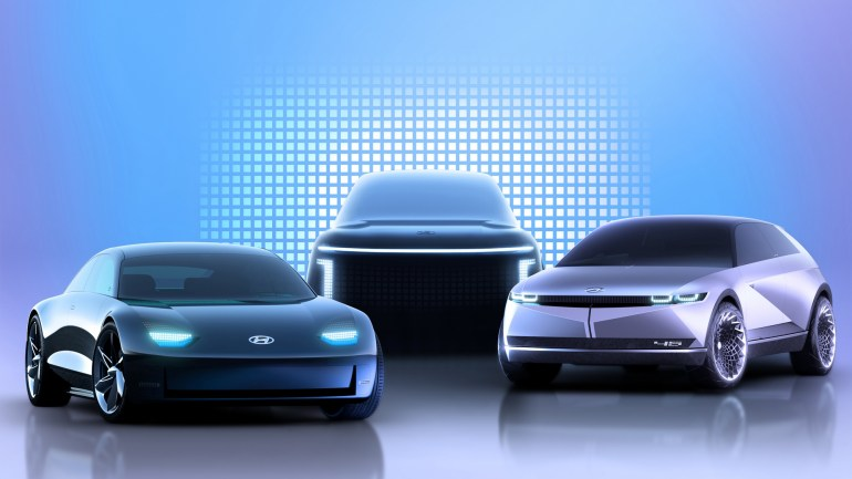 Hyundai случайно опубликовал характеристики будущего электромобиля IONIQ 5 - мощность 230 кВт, разгон до сотни за 5 сек и запас хода 450 км