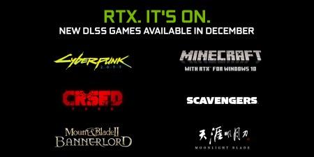Обновлено: Cyberpunk 2077, Minecraft RTX и еще четыре игры обзавелись поддержкой NVIDIA DLSS