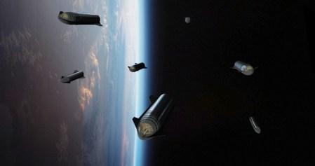 Илон Маск рассказал о намерении ловить первую ступень Starship (Super Heavy) в воздухе стрелой пусковой башни