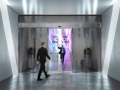 LG разрабатывает раздвижные двери из прозрачных OLED-дисплеев