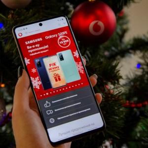 Vodafone Retail: В Топ-10 самых популярных смартфонов «под елку» вошли сразу четыре Samsung, три Xiaomi и два Nokia