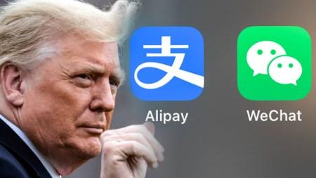 Трамп подписал указ о запрете сделок с владельцами Alipay, WeChat Pay, WPS Office и еще пяти китайских программных продуктов