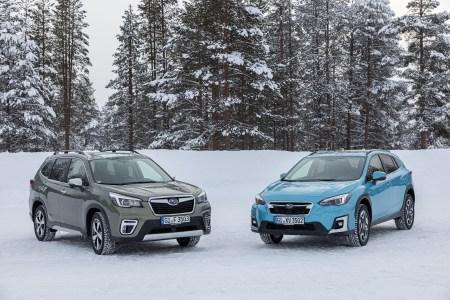 В Україні відбулась презентація гібридної технології Subaru e-Boxer, яка доступна в моделях Forester та XV