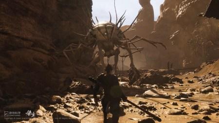 Китайская геймстудия Game Science опубликовала новое геймплейное видео action-RPG игры Black Myth: Wukong [видео, скриншоты]