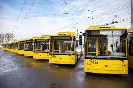 КМДА: В Києві вийшли на маршрути нові тролейбуси «Богдан» з відеокамерами, електронним квитком та автономним ходом 1 км