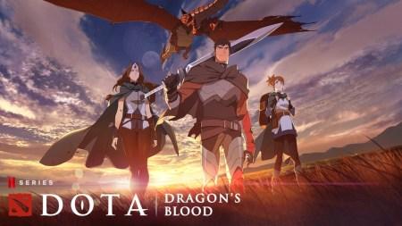 Netflix представил первый тизер-трейлер фэнтезийного аниме-сериала «DOTA: Кровь дракона»