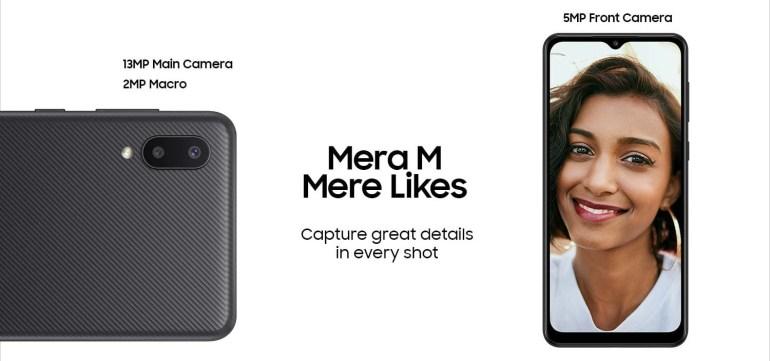 Анонсирован смартфон Samsung Galaxy M02 с 6,5-дюймовым дисплеем, батареей ёмкостью 5000 мАч и ценой менее $100