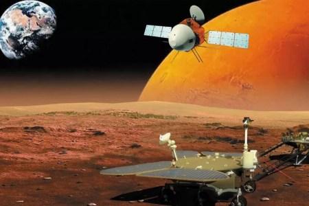 Китайская станция «Тяньвэнь-1» вышла на околомарсианскую орбиту