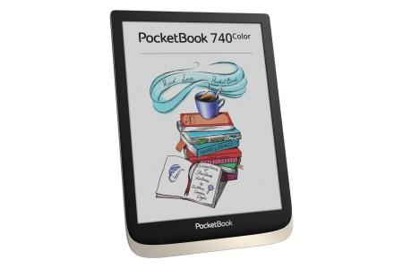 Представлен новый ридер PocketBook 740 Color с 7,8-дюймовым цветным экраном второго поколения E Ink new Kaleido, продажи в Украине стартуют в марте по цене 8599 грн
