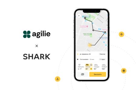 IT-компанія Agilie, розробник мобільного додатку SharkTaxi, презентувала дитячий мультик про машинку Шаркі