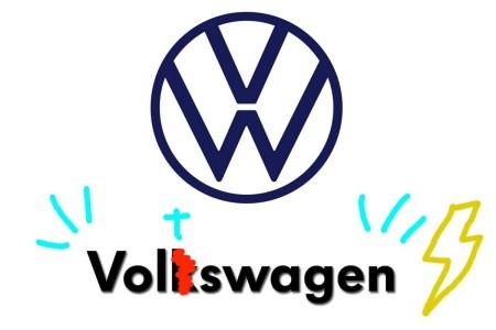 Volkswagen случайно «проговорился» о намерении переименовать американское подразделение в Voltswagen