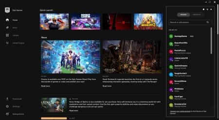 Epic Games анонсировала грядущее крупное обновление магазина — групповые чаты, улучшенный поиск, уменьшенная панель общения и карточки игроков
