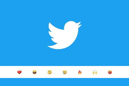 Twitter рассматривает возможность добавления реакций на твиты
