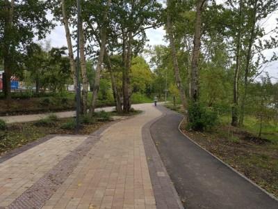 КМДА збудує на Трухановому острові новий вело-пішохідний променад, який розділить авто- і велопотоки