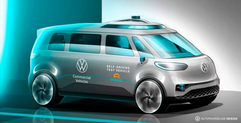 Volkswagen выпустит беспилотный электроминивэн на основе ID.Buzz и кабриолет на основе электрохэтчбека ID.3