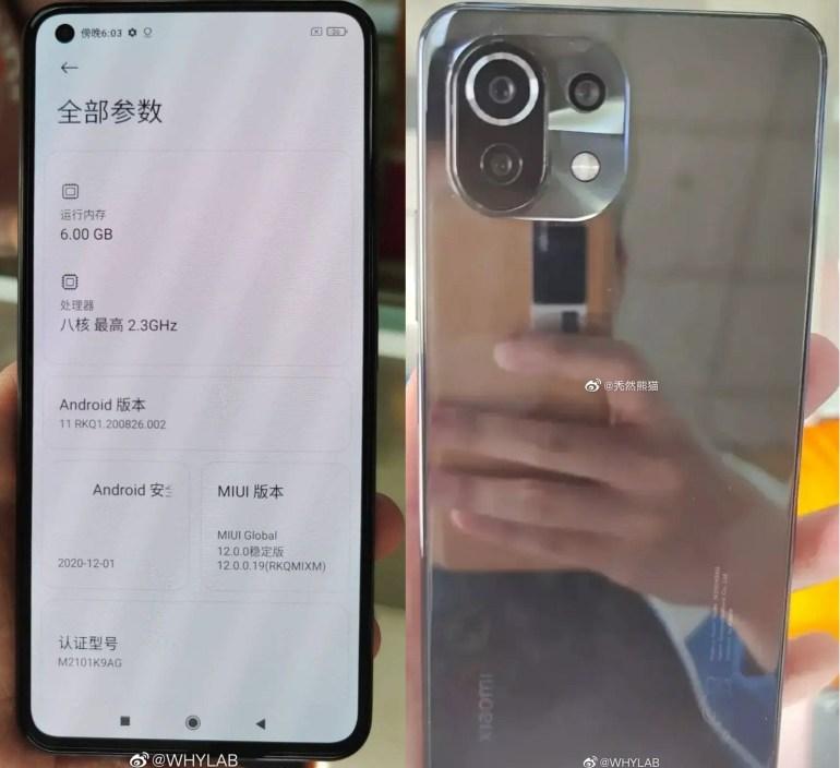 Xiaomi Mi 11 Lite появился в Google Play Console — он получит не самую новую Snapdragon 765G