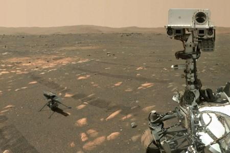 Марсианский вертолет Ingenuity «размял» лопасти перед историческим полетом 11 апреля