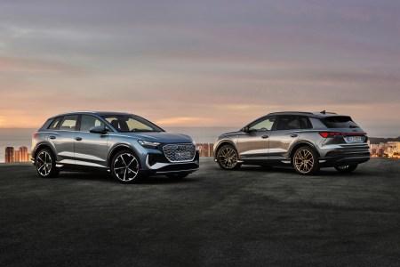 Электрокроссоверы Audi Q4 e-tron и Q4 Sportback e-tron представлены официально: мощность до 300 л.с., батареи на 52 и 77 кВтч, запас хода до 520 км и ценник от 41,900 евро