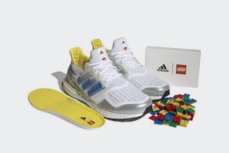 Adidas представила две оригинальные пары кроссовок — в виде Полотенчика из «Южного парка» с меняющимися глазами и кастомизируемые Ultraboost DNA с кубиками Lego