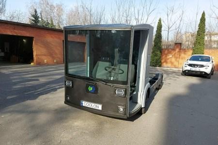 Перший український електромобіль CoolOn виїхав на ходові випробування [фото, відео]