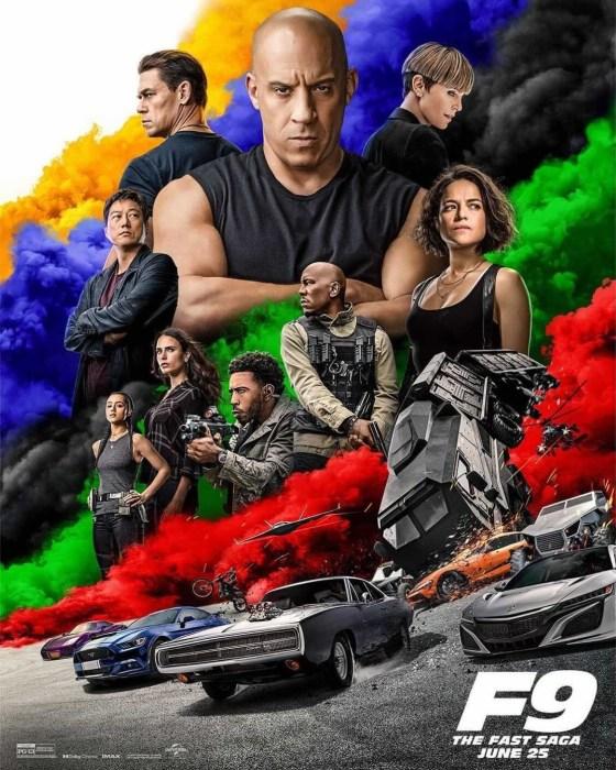 Вышел второй трейлер боевика F9 / «Форсаж 9» с братьями Торетто в исполнении Вина Дизеля и Джона Сины (премьера пока назначена на 25 июня 2021 года)