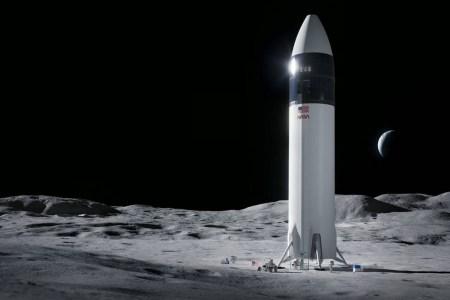 NASA выбрало корабль Starship для первой высадки человека на Луну в XXI веке