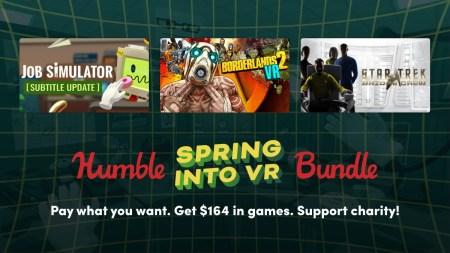 Humble Bundle предложил набор VR-игр стоимостью $215 всего за $15 (там есть игра Job Simulator)