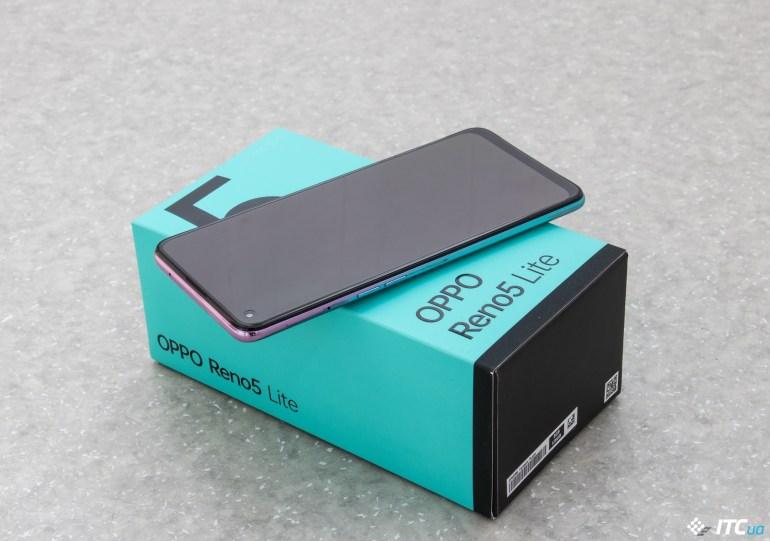 Обзор смартфона Oppo Reno5 Lite