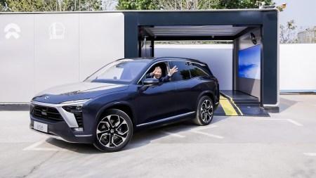 Китайский автопроизводитель NIO начал устанавливать новые станции автоматической замены батарей электромобилей Power Swap Station 2.0 [видео]