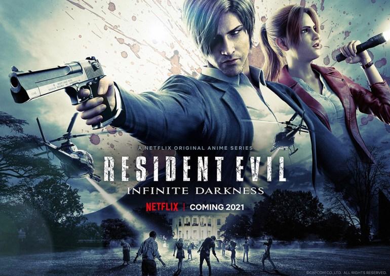 Официально: Netflix выпустит анимационный сериал Resident Evil: Infinite Darkness в июле текущего года [новый трейлер]