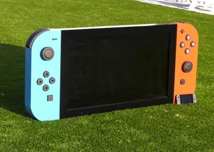 Энтузиаст создал увеличенную функциональную копию Nintendo Switch – на 650% больше оригинала