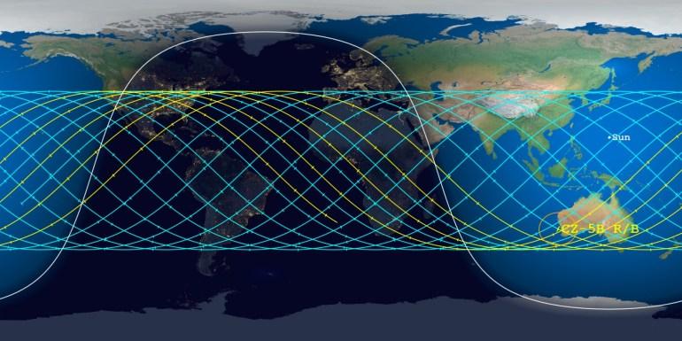 Прогноз на выходные: местами возможны осадки в виде остатков китайской ракеты