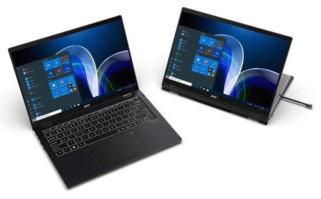 Acer анонсувала портативний бізнес-ноутбук TravelMate P6 — Intel Core vPro (11-го покоління) й конвертований варіант із сенсорним дисплеєм, який можна повертати на 360 градусів