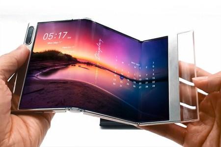 Samsung Display разработала новые гибкие OLED экраны для складных смартфонов — раздвижной и складываемый втрое