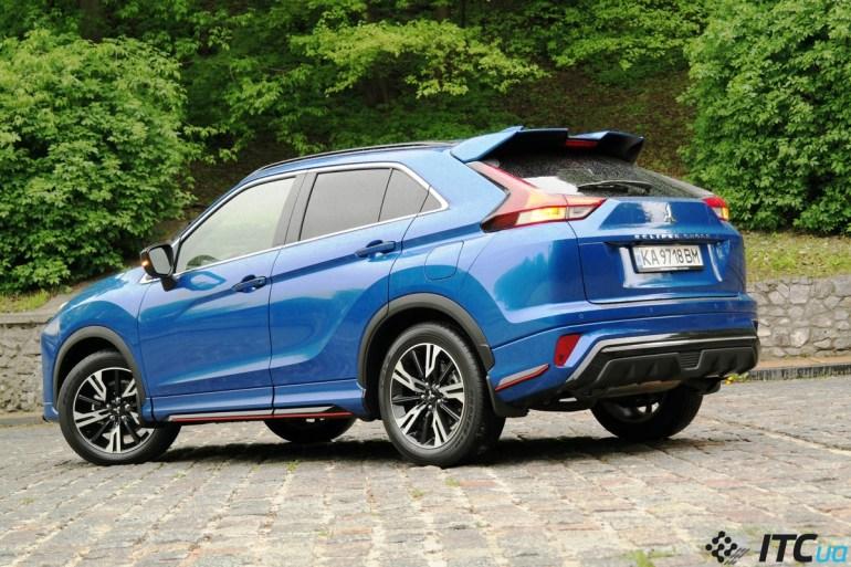 Тест-драйв Mitsubishi Eclipse Cross 2021: новый дизайн, новый мотор, новый шанс?