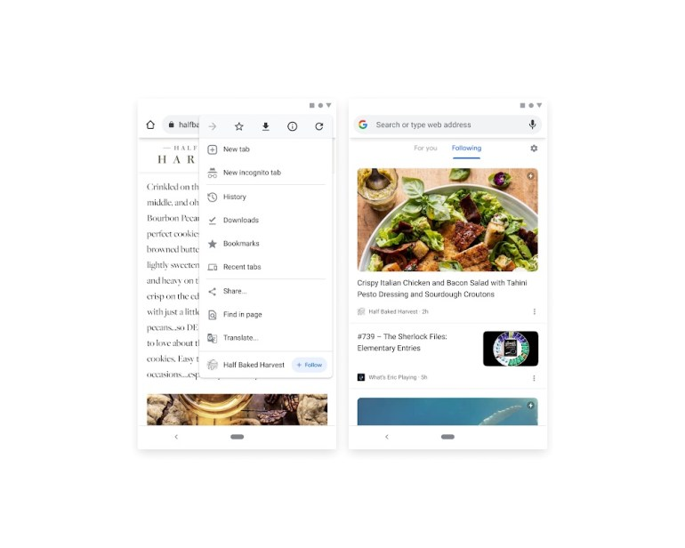 Google переизобретает RSS — разработчики тестируют функцию отслеживания публикаций на сайтах в Chrome на Android