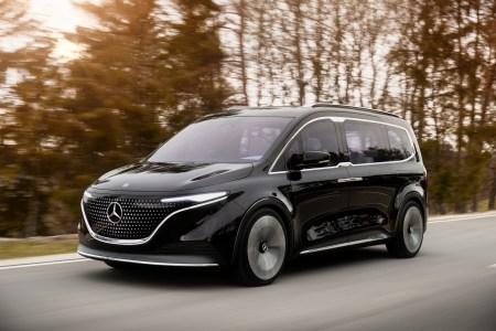 Немцы представили концепт электрического минивэна Mercedes-Benz Concept EQT (но первым на рынок в 2022 году выйдет его ДВС-версия)