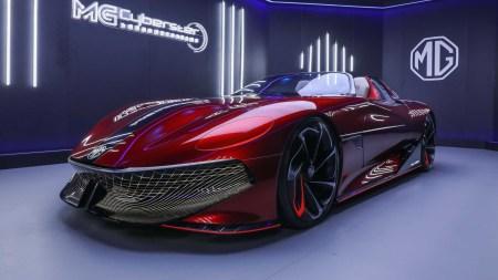 Официально: Футуристичный электрический концепт MG Cyberster станет серийной моделью (после того, как собрал более 5000 предзаказов)