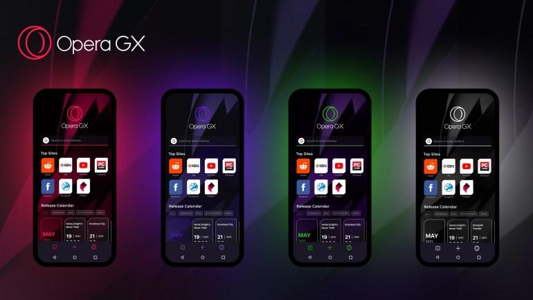 Вышел Opera GX Mobile - первый мобильный браузер, созданный специально для геймеров (пока в бета-версии)