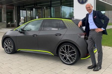 Немцы показали концепт «горячего» электромобиля Volkswagen ID X — 329 л.с. мощности, 5,3 сек до «сотни», минус 200 кг веса и дрифт-режим