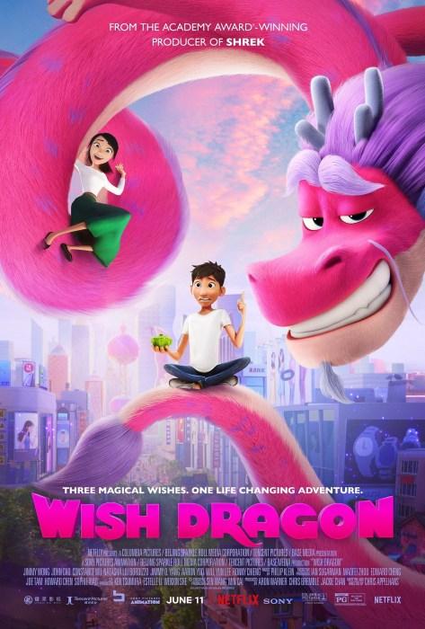 """Вышел первый трейлер китайского мультфильма Wish Dragon / """"Дракон желаний"""", пересказывающий историю Аладдина (премьера на Netflix 11 июня 2021 года)"""