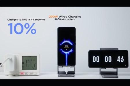 Xiaomi анонсировала HyperCharge — новое поколение сверхбыстрой зарядки мощностью 200 Вт позволяет зарядить телефон с батарей 4000 мА•ч за 8 минут