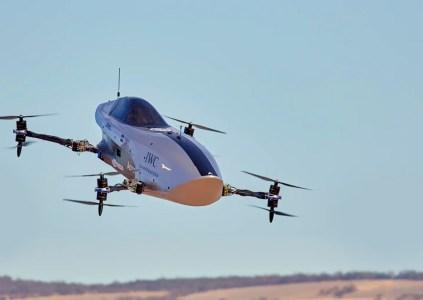 Airspeeder провела первый испытательный полёт электрического гоночного спидера Alauda Mk3