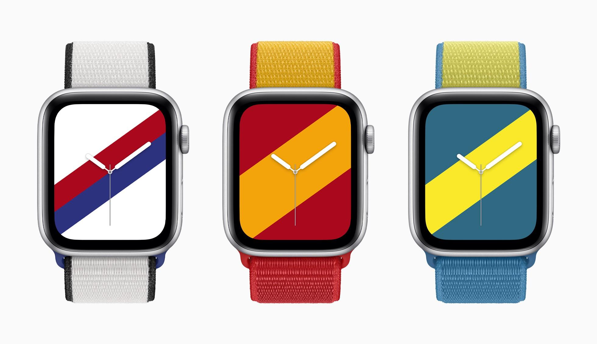 К Олимпиаде Apple выпустила международную коллекцию ремешков для Apple Watch в цветах 22 стран (там нет Украины, но есть Швеция) - ITC.ua